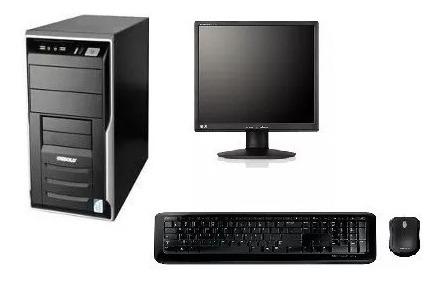 2 Cpu Completa C/ 4gb + Monitor 17 #frete Grátis