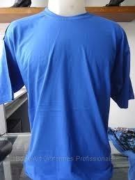 Kit 13 Camisa De Malha Azul Royal