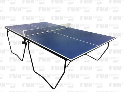 Imagen 1 de 3 de Mesa De Ping Pong Profesional - Fun Juegos