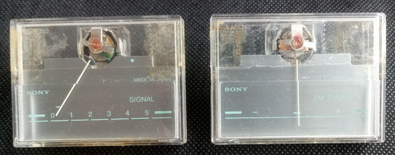 Vu E Signal Analógico Do Receiver Sony Str 11bs E Str 12bs