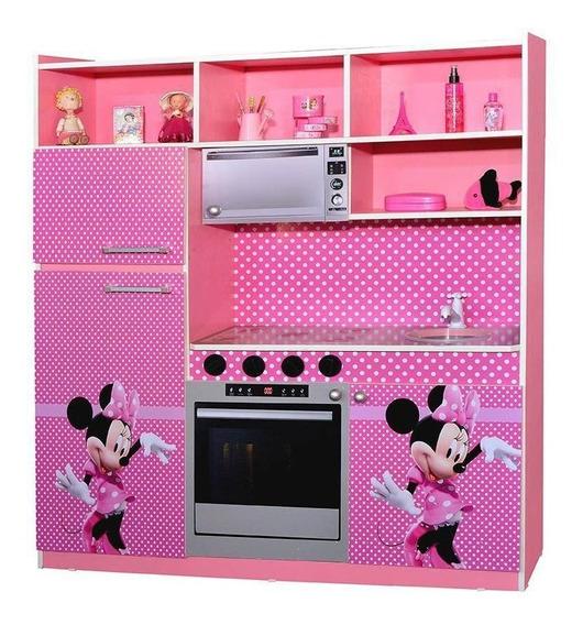 Kit De Cozinha Brinquedo Infantil Rosa - Criança Feliz