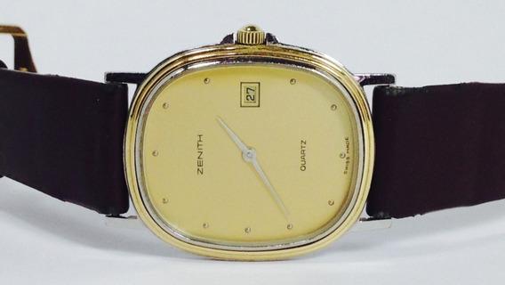 Reloj Original Zenith Con Estuche P/caballero (inv 1866)