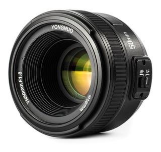 Lente Yongnuo 50mm Nikon Fijo 1.8 Mf Af D5500 Igual A 1.8g