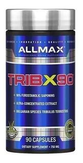 Tribulus Allmax Tribx90 750mg 90 Cáps Importado Eua Envio Já