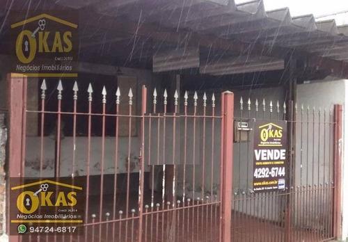 Imagem 1 de 12 de Casa Com 2 Dormitórios À Venda, 95 M² Por R$ 220.000,00 - Vila Amorim - Suzano/sp - Ca0214