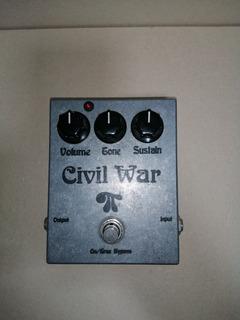 Pedal Fuzz Clon Del Civil War Bif Muff Pi Gilmour Pink Floyd