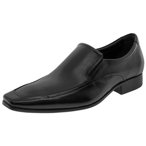 Sapato Masculino Social Preto Democrata - 450053