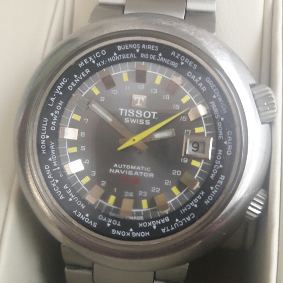 Tissot T12 Navigator World Time 24 Horas