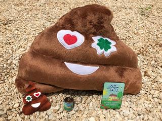 Cocozinho Emoji Do Amor Sorte Almofada +cartão+chaveiro+ímã