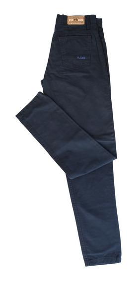 Pantalon Colegial Gabardina Gris Niño