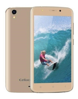 Smartphone Cellacom5 2.5d Hd Ips Quad Core 13 Mpx Gold