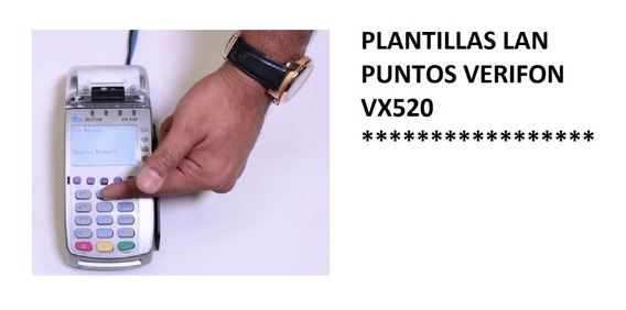 Plantillas Lan Verifon Vx-510 Vx-520