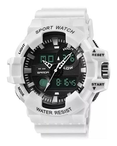 Relógio Masculino Resistente Esportivo  Original Branco
