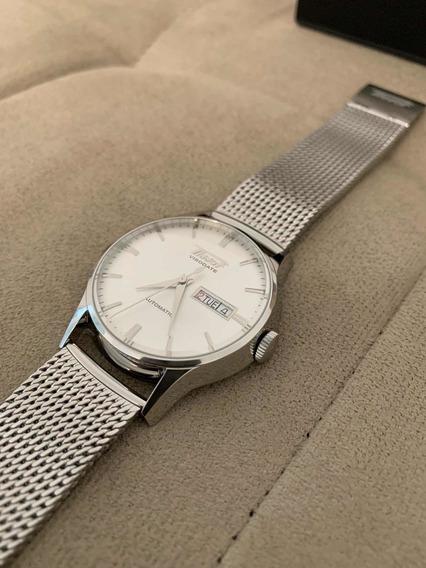 Relógio Tissot Heritage Visodate Automático - Pronta Entrega