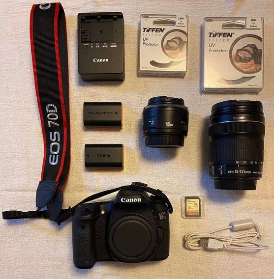 Canon 70d 2300 Cliques