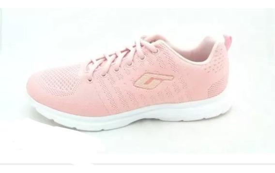 Zapatillas Rosas Súper Livianas Dama Mujer Niñas Running