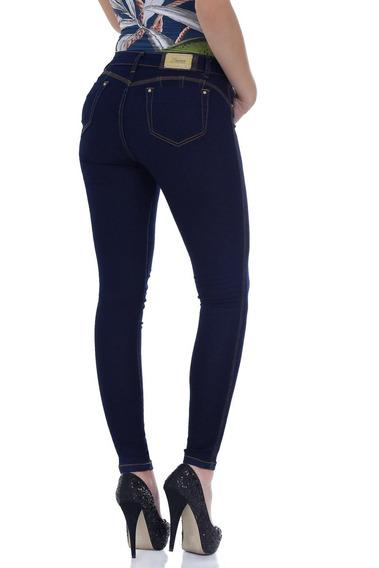 Calça Com Bojo Zigma Hot Pant Azul