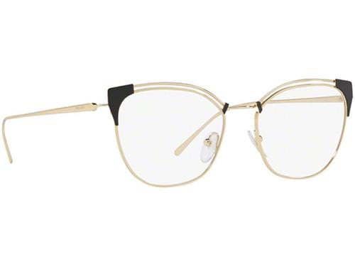 326141091 Armação Óculos De Grau Feminino Prada Vpr62u Yee-101