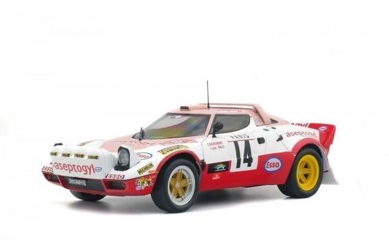 Lancia Stratos Gr.4 Rallye Monte Carlo 1977 1:18 Solido