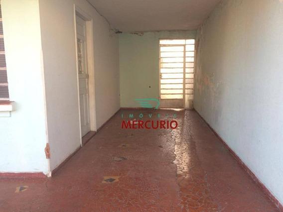 Casa Com 3 Dormitórios Para Alugar, 210 M² Por R$ 1.100/mês - Higienópolis - Bauru/sp - Ca3051