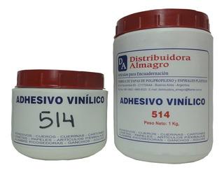 Adhesivo Cola Vinílica Para Encuadernación N°514 X 4 Kg.