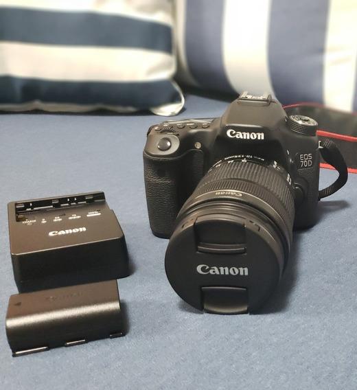 Kit Câmera Fotográfica - Canon 70d