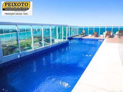 Vista Permanente Para O Mar, Centro, Guarapari Es. - Ap00510 - 4947071