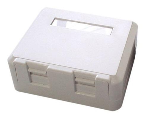 Caixa Superficie C/02 Saídas P/rj45 ( Surface Box ) Kit C/40