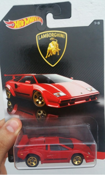 Lamborghini Countach - 1/64 - Hot Wheels