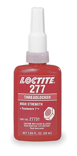 Adesivo Loctite 277 Trava Roscas Alto Torque Vermelho 50g