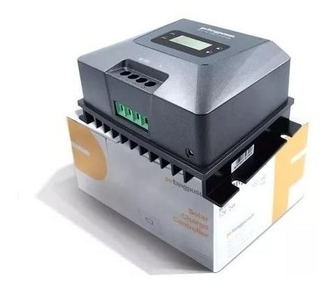 Controlador De Carga Painel Mppt Solar Usb 50a 12v/24v Black