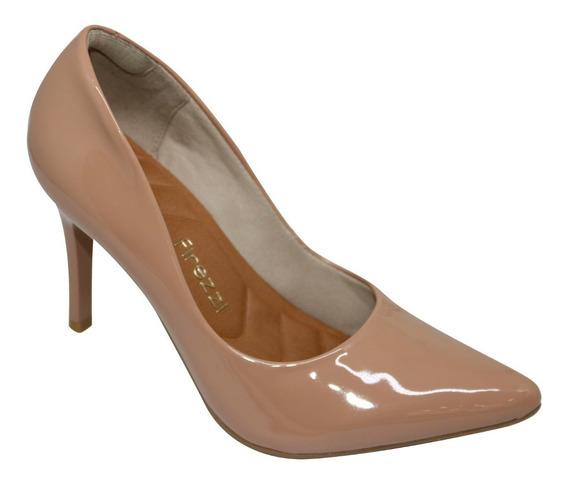 Sapato Feminino Scarpin Confortavel Bico Fino Firezzi
