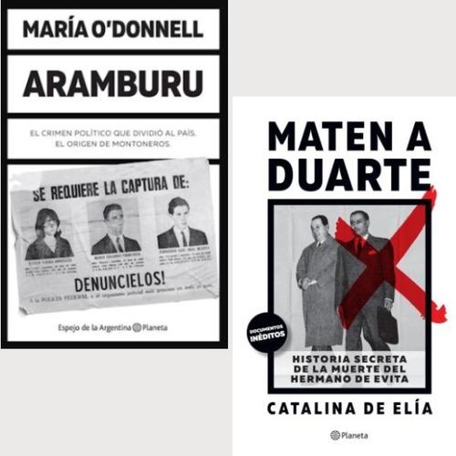 Maten A Duarte + Aramburu - Catalina De Elía /maría O'donnel