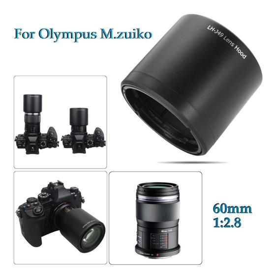 Câmera Longa Capuz Lente Para Olympus M.zuiko Digital Ed 60m