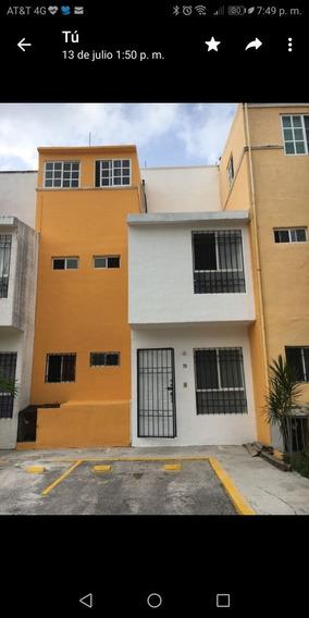 Hermosa Casa Renta En Fracc Paraíso Villas Cancun