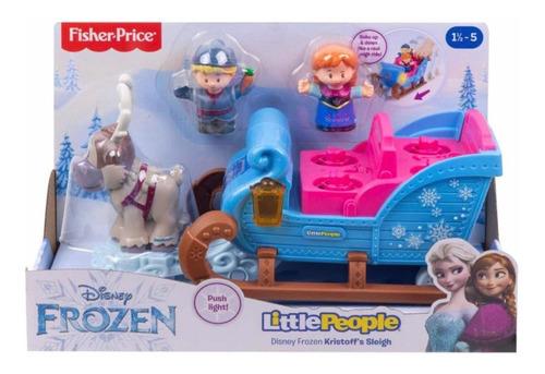 Frozen Fisher Price Carruaje Little People