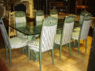J O Y A Comedor Diseño Vintage Mesa 8 Sillas Destacado(3304