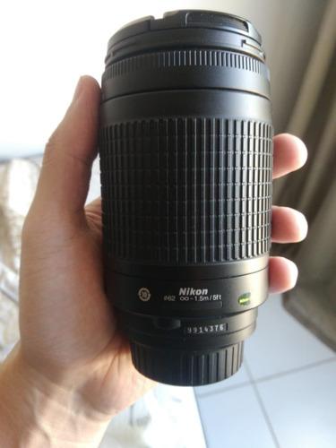Lente Nikon Nikkor Af 70-300mm F/4-5.6g + Brinde