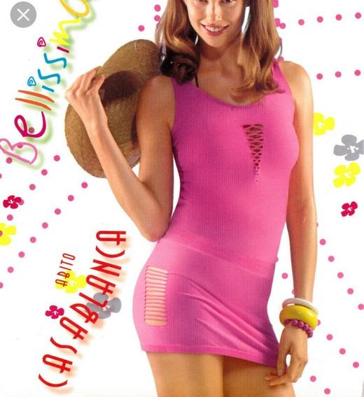 Vestido Sexy Corto Dama En Piel De Durazno Talla M