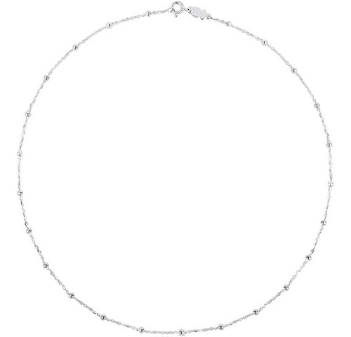 Collar Tous Plata 925 Largo 45cms