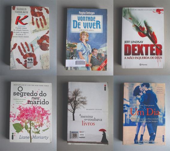 6 Livros - Literatura Estrangeira - Vários Autores - Lote 6