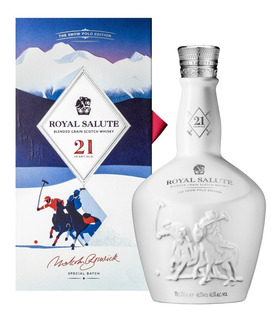 Whisky Chivas Regal Royal 21 Años The Snow Polo Edition