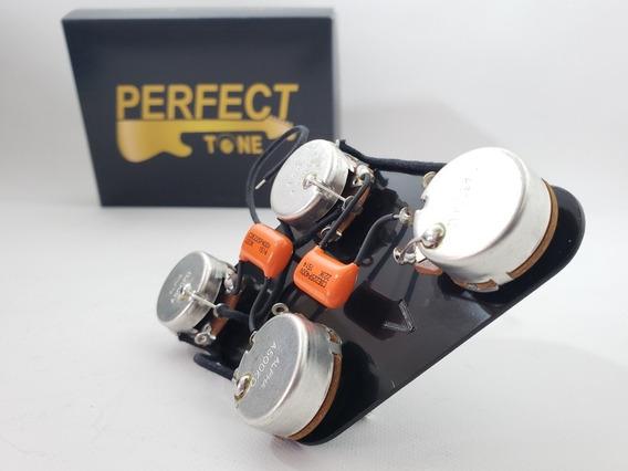 Circuito Alpha Les Paul Kit Elétrica Potenciometro Chave