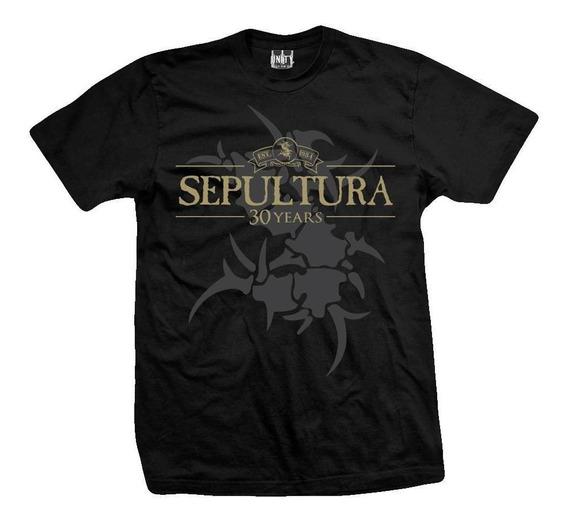 Remera Sepultura 30 Years