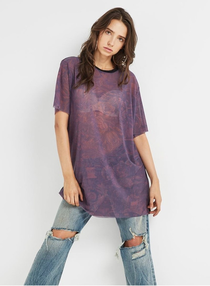 Diesel Remera Mujer T-yppy 00sili0wast