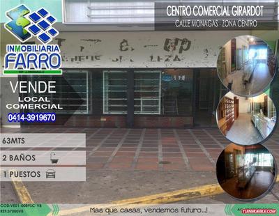 Venta De Local Comencial Sector Centro Ve01-0089sc-vb