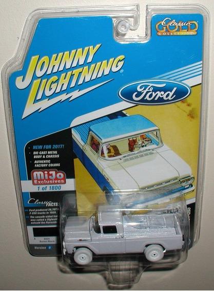 Johnny White Lightning 59 Ford F250 Ruedas Goma Solo Envios