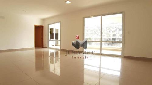 Imagem 1 de 30 de Para Alugar Por R$ 3.800 Apartamento Com 3 Dormitórios , 172 M² Mês - Nova Aliança - Ribeirão Preto/sp - Ap3649