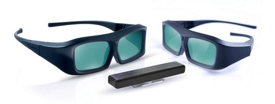 Kit Completo 2 Óculos 3d Pta02 Ativo Philips Original