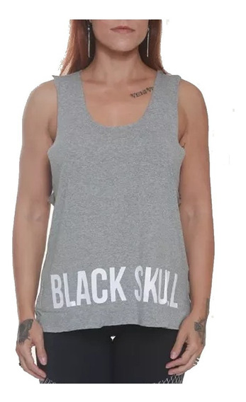 Regata Feminina Fitness - Black Skull